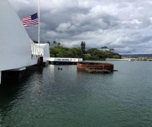 The USS Arizona Memorial in Hawaii. (Photo courtesy Missy Hall)