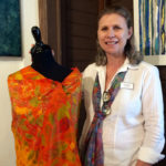 Washburn Offers Nature-Inspired Scarves at Stable Gallery