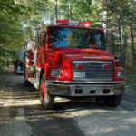 Four Departments Extinguish Woods Fire in Bremen