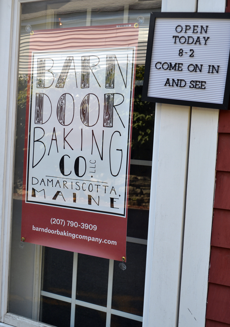 Barn door baking co begins weekend 39 open bakery 39 days for The barn door company