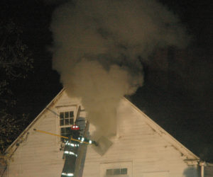 Fire Causes Extensive Damage to House on Indian Trail in Newcastle