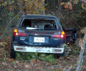 No Serious Injuries in Waldoboro Rollover