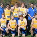 Boothbay boys XC South C Regional runner-ups