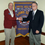 Bristol Lions Hear from Reporter Don Carrigan