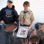Boy Scouts Attend Fishermen's Rendezvous Fall Camporee