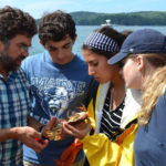 First-Year Students Take Plunge at Marine Sciences Boot Camp