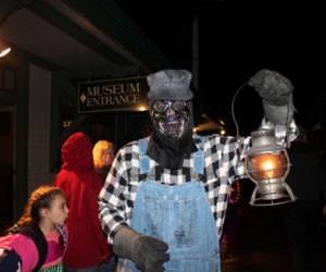 Ride the Ghost Train in Boothbay