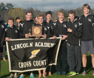 """<span class=""""entry-title-primary"""">Lincoln Academy Boys Win State Cross-Country Championship</span> <span class=""""entry-subtitle"""">Boys and Girls Win Sportsmanship Awards</span>"""