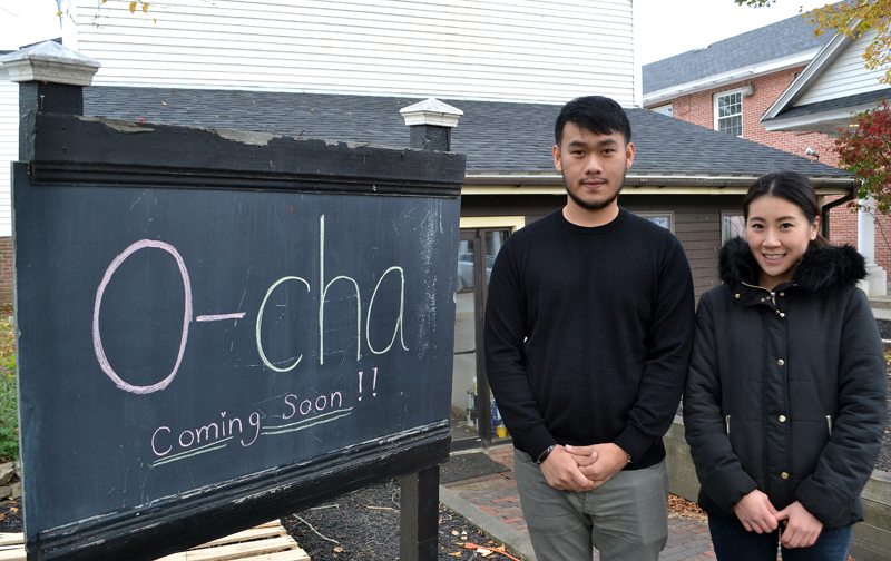 Husband and wife Pongsakorn Hanjitsuwan and Samatchaya Limvathanalert plan to open O-Cha, a Thai-inspired bar and grill, at 88 Main St. in Damariscotta in mid-December. (Maia Zewert photo)