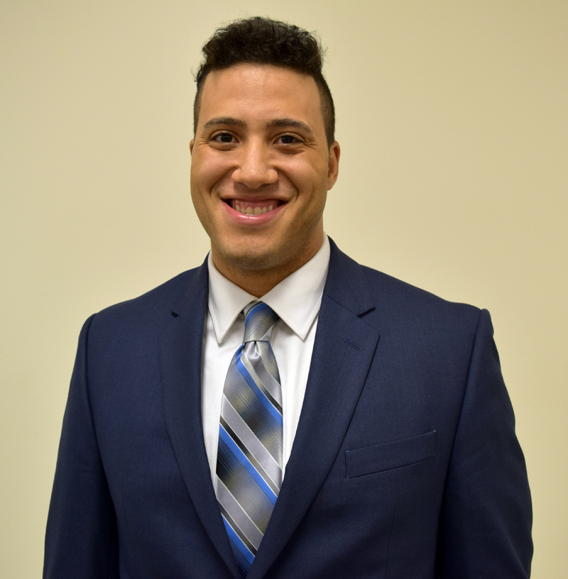 Michael Henderson will replace outgoing Dresden Administrative Assistant Trudy Foss. (J.W. Oliver photo)