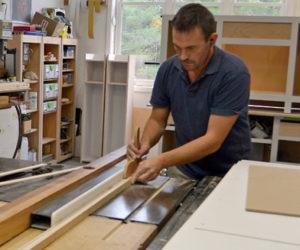 South Bristol Woodworker Crafts Custom Furniture, Guitars