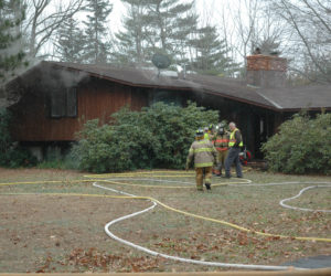 Fire Damages Home on Main Street in Waldoboro