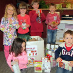 Coastal Kids Preschool Helps Food Pantry