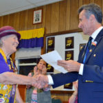 Follett Recognized For 30 Years of Service to Lions