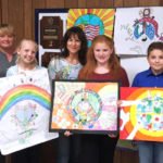 Lions Present Peace Poster Awards