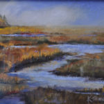 Traina Pastel Pieces on Exhibit in Miles' Hall Gallery