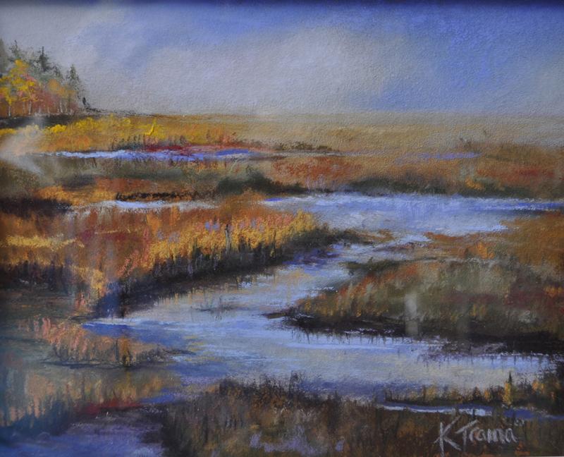 """""""Eddy Marsh,"""" by Kimberly Skillin Traina."""