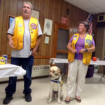 Canine Companions for Independence Visit Whitefield Lions