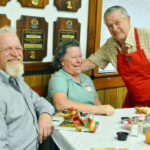 Whitefield Lions Give Harvest Dinner