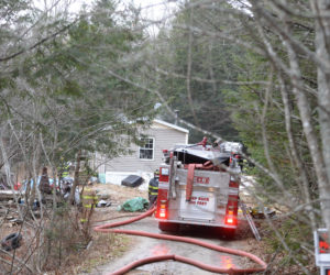 Fire Totals Wiscasset Mobile Home
