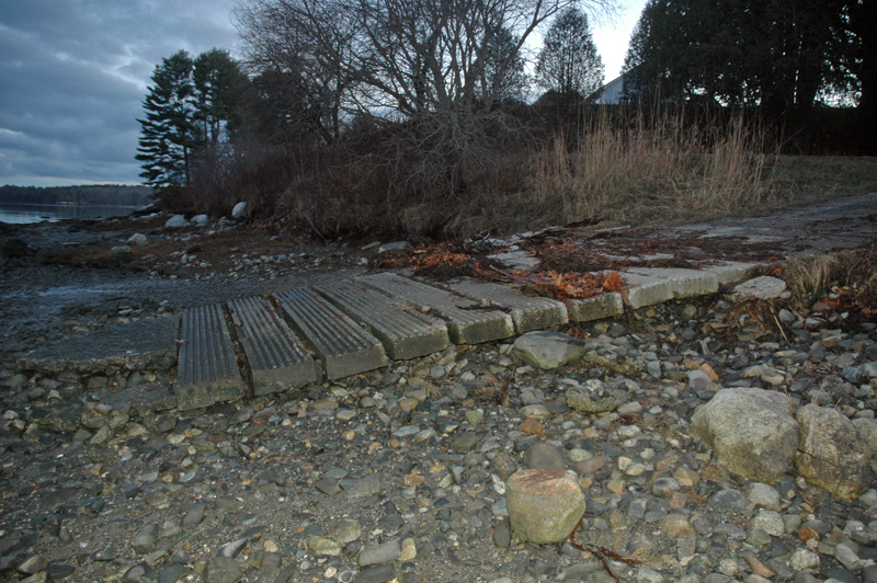 Storer Landing was built in 1999 to provide access to the area around Broad Cove for both recreation and shellfish harvesting. (Alexander Violo photo)