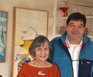 Review: Art Lovers Flock to Pedrick Art Reception in Round Pond