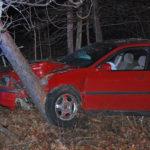 One Hurt in Jefferson Crash