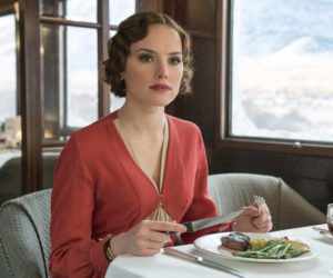 "Daisy Ridley stars as Mary Debenham in the 2017 version of ""Murder on the Orient Express,"" directed by Kenneth Branagh, who also stars as Hercule Poirot."