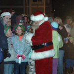 Santa Claus Stops by Waldoboro
