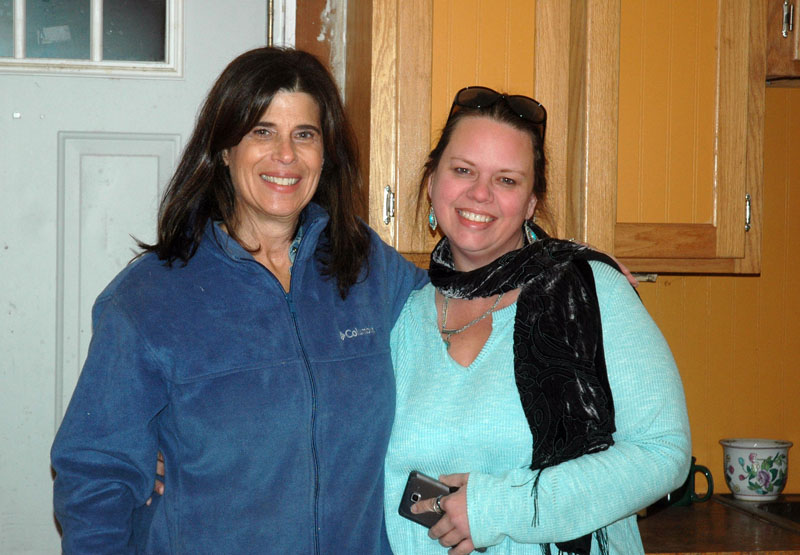 From left: Alison Lampke, the new owner of 32 Friendship St., and her Realtor,  Jessica Pooley. (Alexander Violo photo)