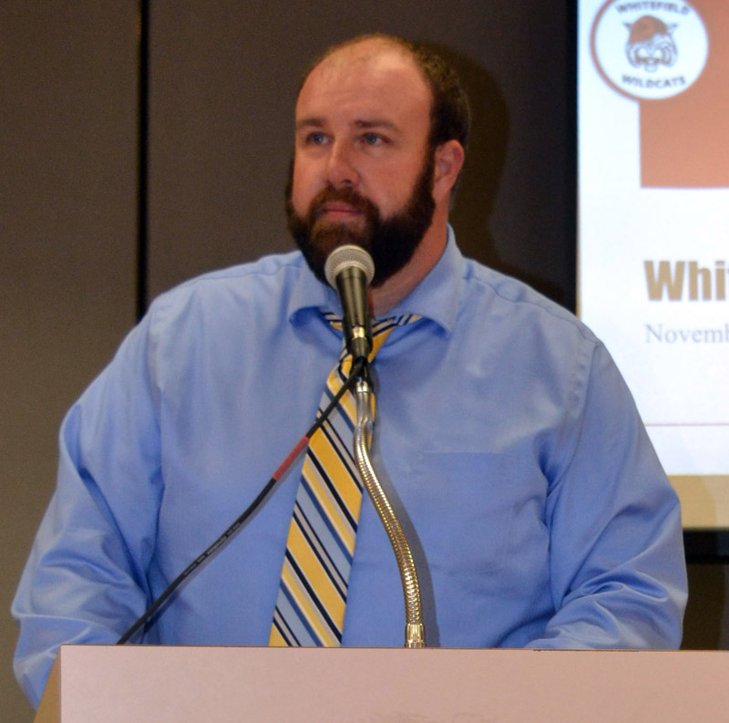 Whitefield Elementary School Principal Joshua McNaughton will resign at the end of the current school year. (Christine LaPado-Breglia photo, LCN file)
