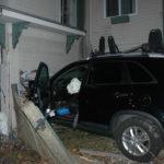 SUV strikes building in downtown Wiscasset