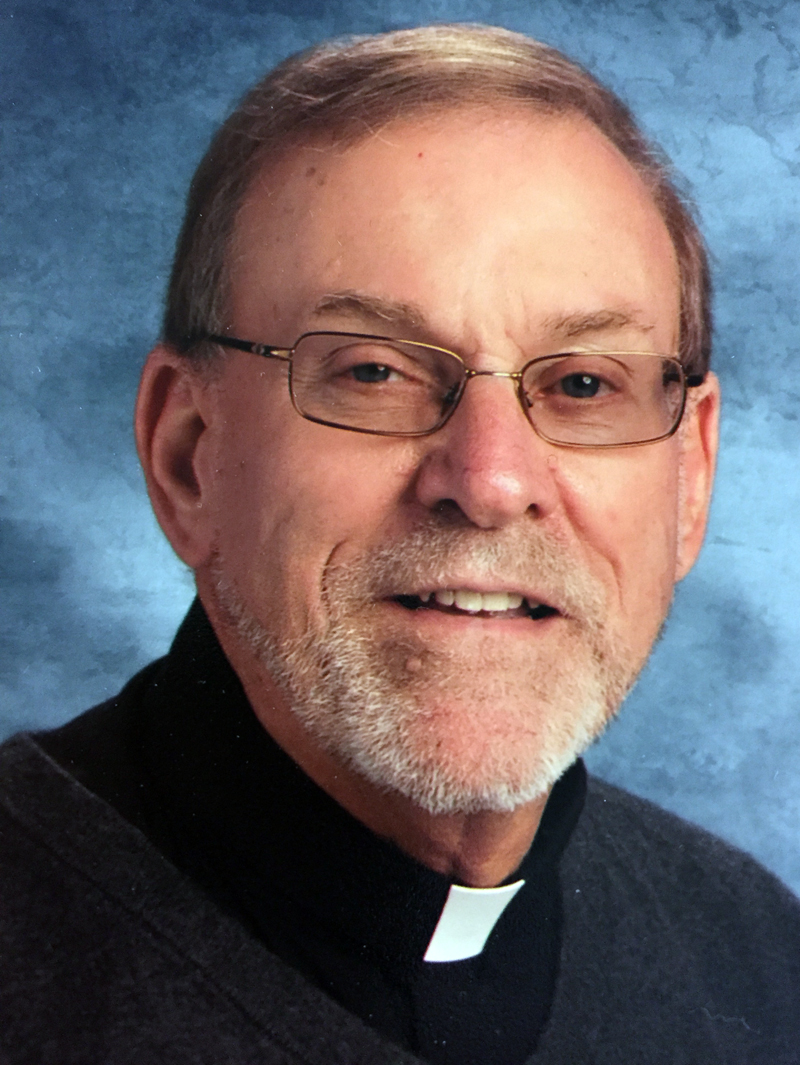 Fr. Frank Morin is the pastor of St. Michael parish, which includes St. Denis Church in Whitefield.
