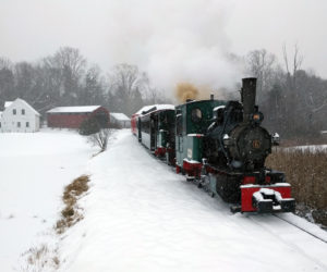 New Year's Ride at Boothbay Railway Village