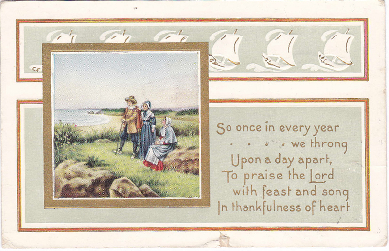 This postcard was mailed to Arlene Cole's grandmother in November 1915.