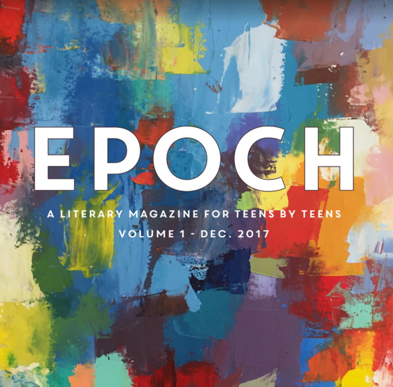 "Skidompha Library has put into production the very first issue of its teen magazine, ""EPOCH."""