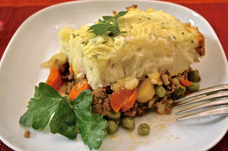 Shepherd's pie will be featured at the free supper at St. Giles' Episcopal Church on Saturday, Jan. 6.