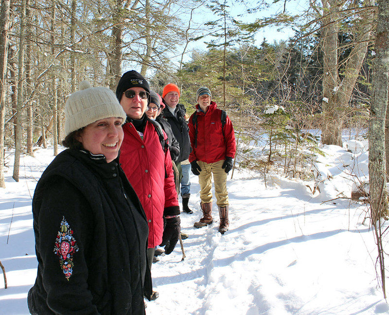 Winter is a wonderful time to get outdoors for a hike or learn a new skill with Damariscotta River Association.