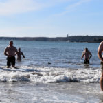 Pemaquid Beach Dip Coldest Ever, Organizer Says