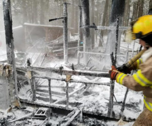 Bristol Firefighters Battle Chicken Coop Fire