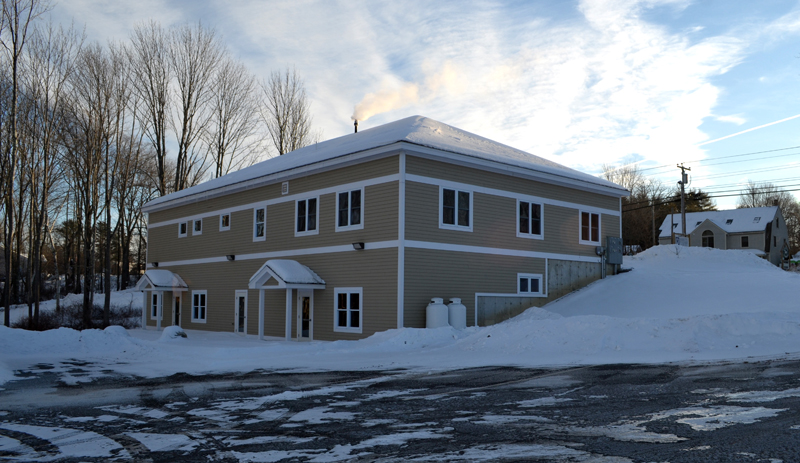 Lisa and Kent Boucher, owners of The Penalty Box Pizza & Pub, plan to open a new redemption center at 590 Main St. in Damariscotta by Feb. 1. (Maia Zewert photo)