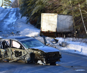 Hallowell Man in 'Good' Condition After Jefferson Crash, Hospital Says