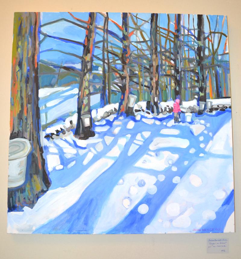 """Sugar on Snow,"" by Susan Bartlett Rice. (Christine LaPado-Breglia photo, LCN file)"