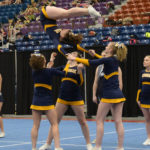 MVHS Cheerleaders Win Fourth Straight KVAC Championship