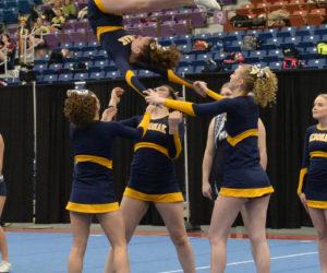 MVHS Cheerleaders Win Fourth Straight KVAC Championship