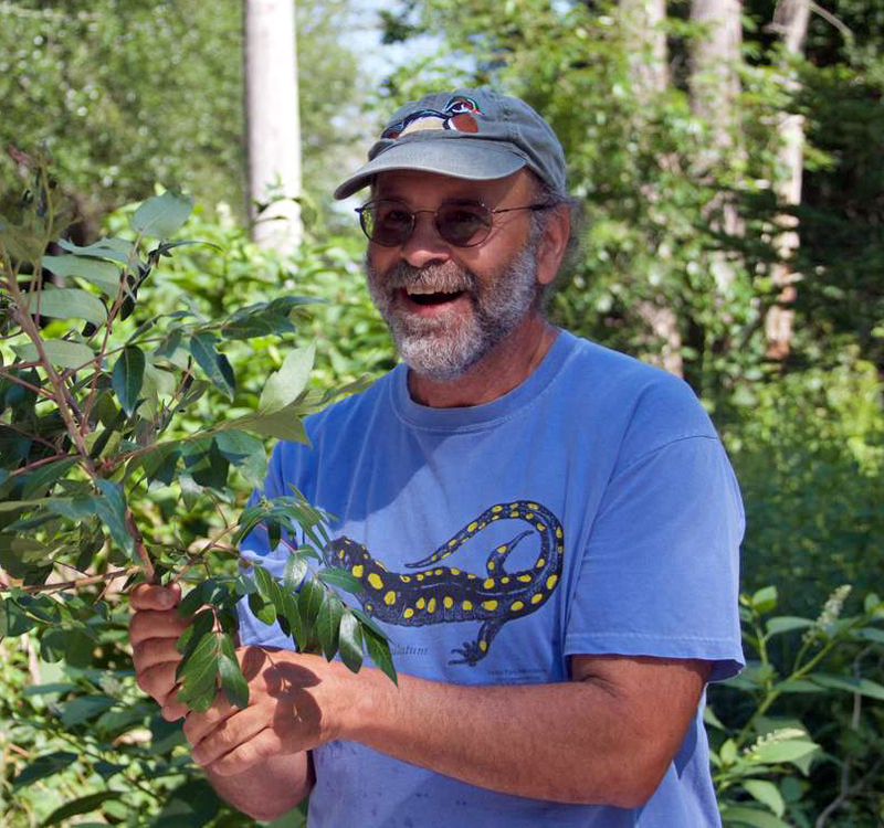 Author and foraging expert Russ Cohen will share his passion for edible native wild plants at Damariscotta River Association on Saturday, Jan. 27.