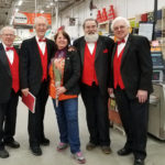 Singing Valentines Offered by Barbershop Quartets