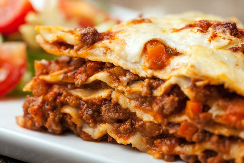 Lasagna is on the menu at the upcomng free supper at St. Giles' Episcopal Church.