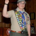 Troop 216 Honors Eagle Scout