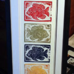 Union Printmaker Opens 'Upcycled' Show at Miles